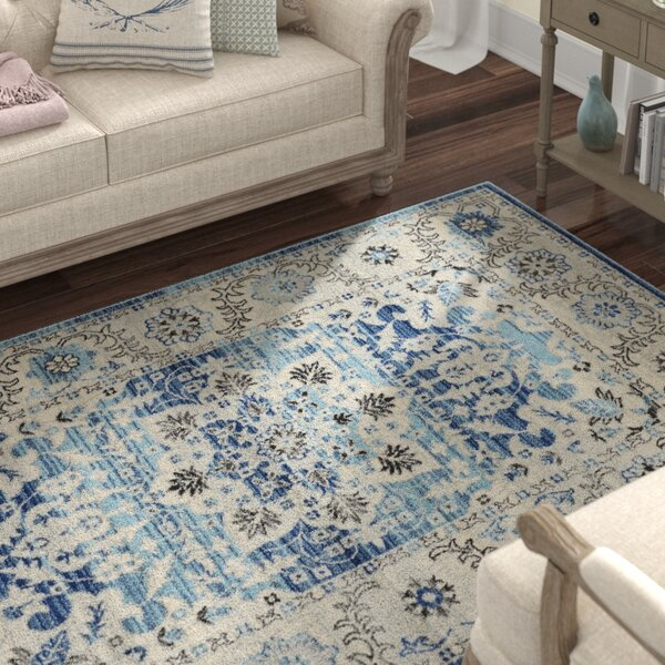Ashcraft Blue Area Rug by Lark Manor