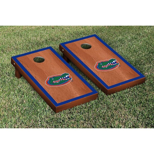 NCAA Florida UF Gators Version 1 Cornhole Game Set by Victory Tailgate