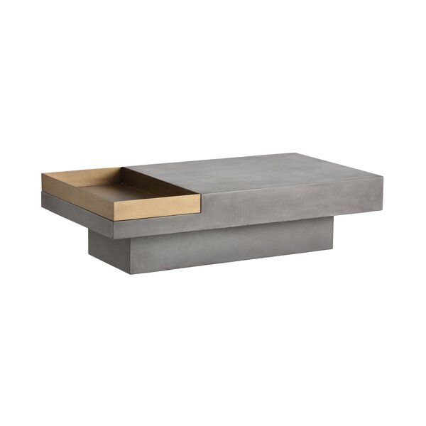 Kimberly Coffee Table with Tray Top by Brayden Studio Brayden Studio