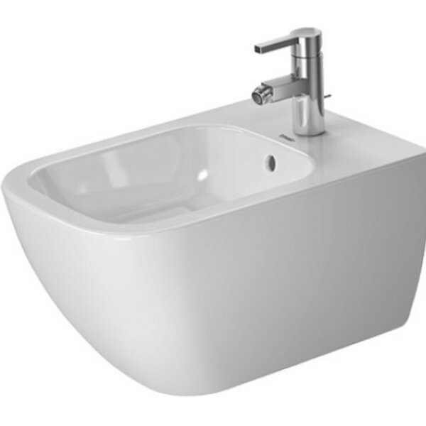 Happy D Wall Mounted Bidet by Duravit