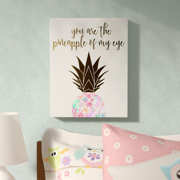Finn You Are The Pineapple of My Eye Canvas Art by Ivy Bronx