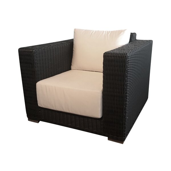 Horne Patio Chair with Cushions by Bayou Breeze