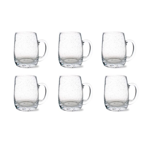 Tag Bubble Beer Mug (Set of 6) by TAG