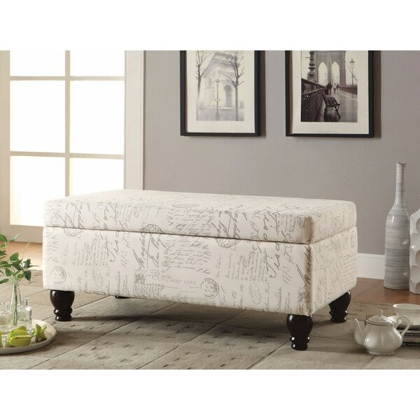 Walmsley Upholstered Storage Bench by Ophelia & Co.