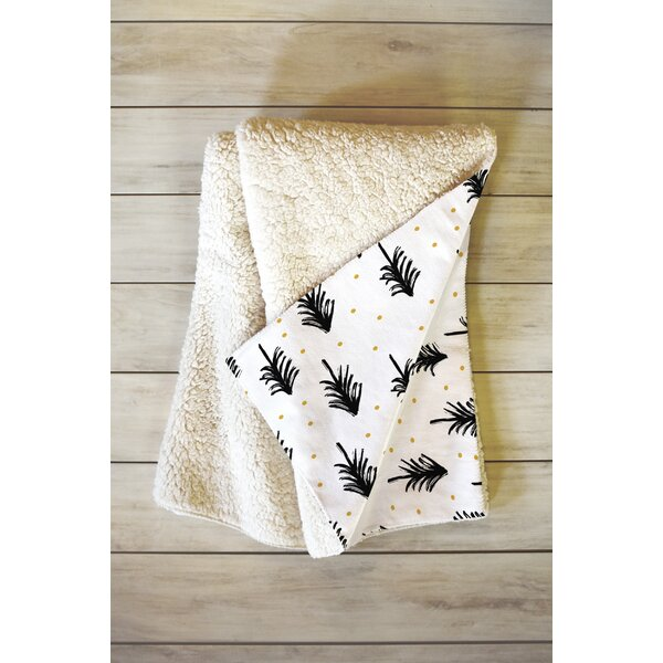 Winter Pines Throw by East Urban Home