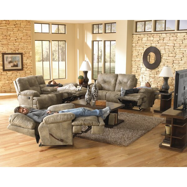 Review Voyager Left Hand Facing Reclining Sectional