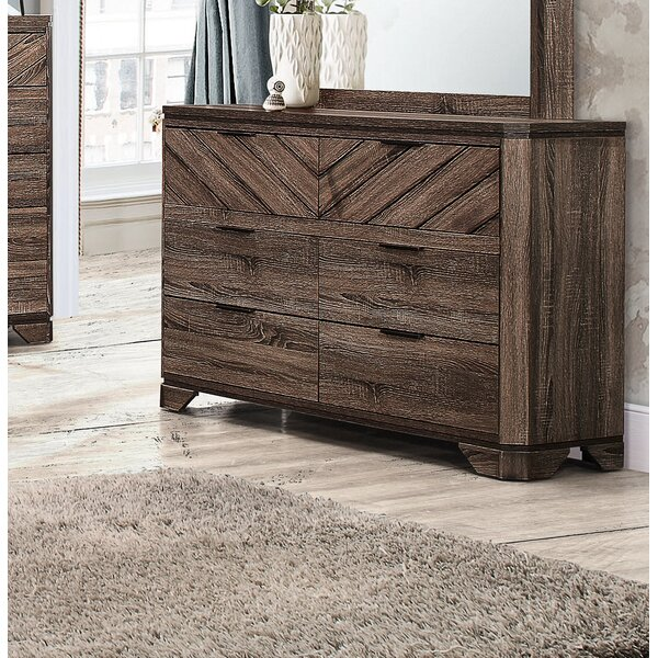Posie 6 Drawer Double Dresser by Foundstone