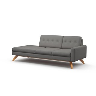 "Luna 94"" One Arm Sofa by TrueModern SKU:CC365517 Buy"