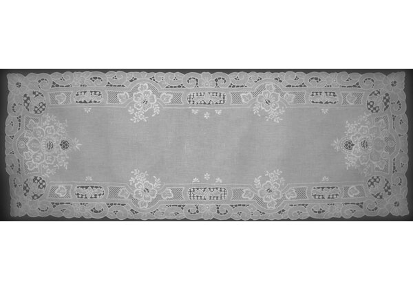 Florentine Embroidery Runner by Fino Lino