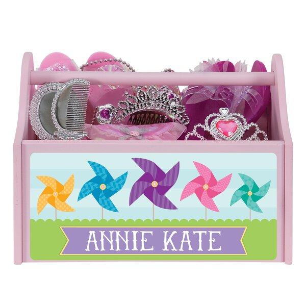 Klotz Pretty Pinwheels Caddy Personalized Toy Organiser by Zoomie Kids