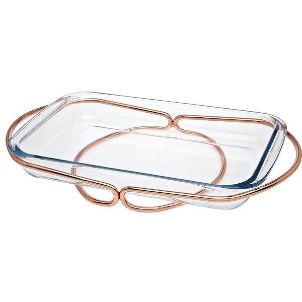 Rectangle Baker by Godinger Silver Art Co