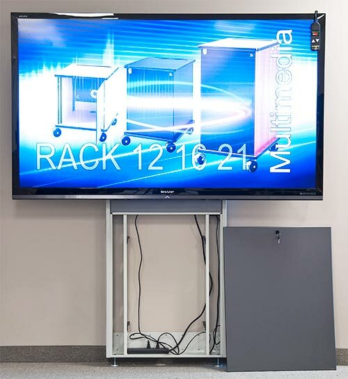 Plasma/LCD/Touch Screen Electric Lift Stand 90 Floor Stand Mount Flatscreen by VFI