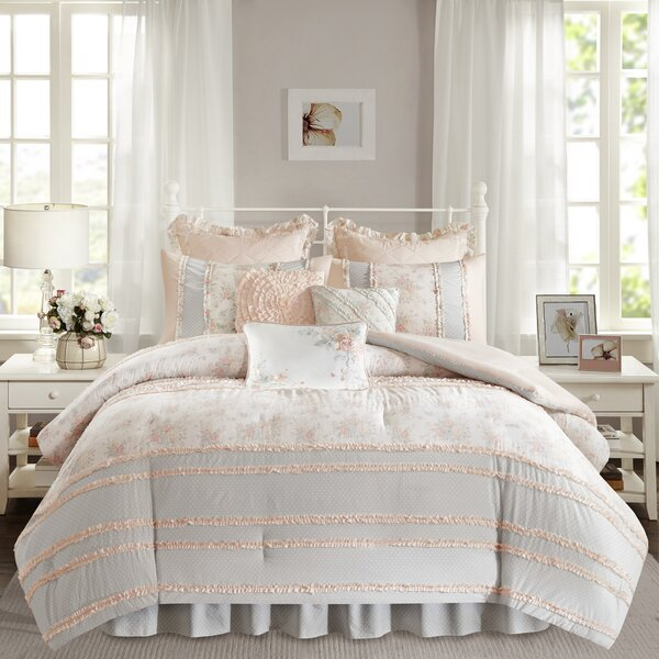 Quarles Comforter Set by August Grove