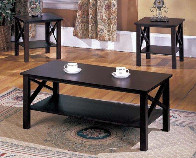 Zelda 3 Piece Coffee Table Set