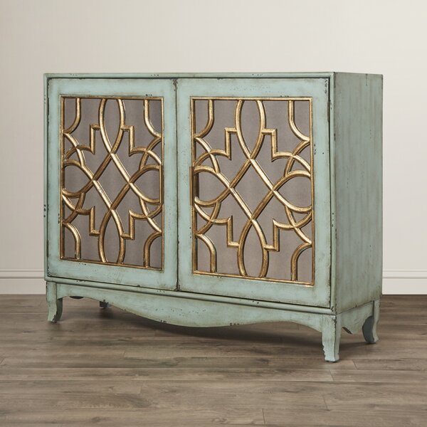 Amya 2 Door Accent Cabinet by World Menagerie