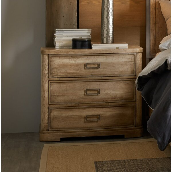Urban Elevation 3 Drawer Nightstand by Hooker Furniture Hooker Furniture
