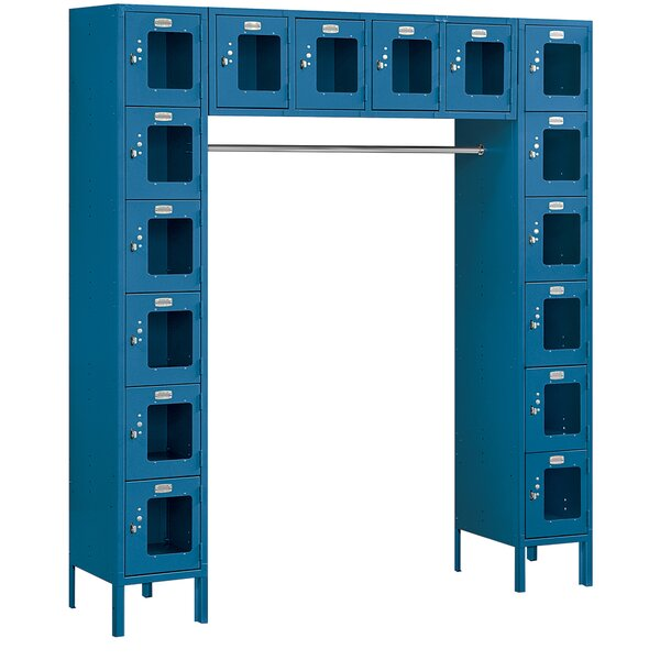 6 Tier 5 Wide Safety Locker by Salsbury Industries6 Tier 5 Wide Safety Locker by Salsbury Industries
