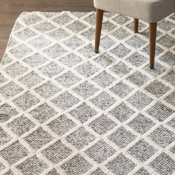 Billie Hand-Tufted Ivory/Black Area Rug by Laurel Foundry Modern Farmhouse