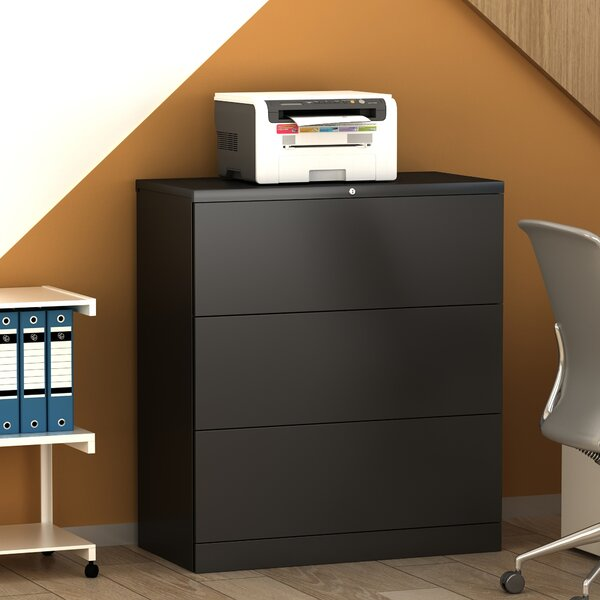 Homeoffice 3-Drawer Lateral Filing Cabinet