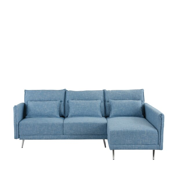 Lyndon Right Hand Facing Sectional by Hashtag Home