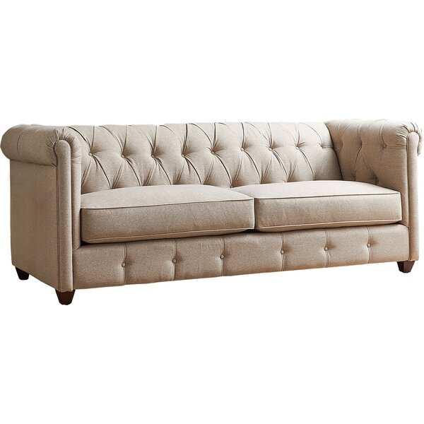 Keegan Chesterfield Sofa by AllModern Custom Upholstery