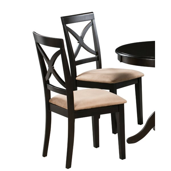 Jase Upholstered Dining Chair (Set of 2) by Alcott Hill