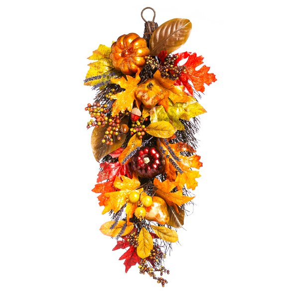 Holiday Harvest Floral Wall Decor by The Holiday Aisle