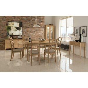 Essgruppe Hirst mit ausziehbarem Tisch und 6 Stühlen von Homestead Living