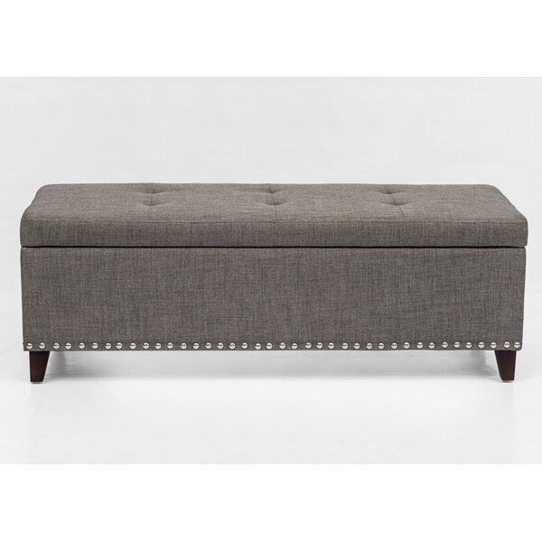 Bettie Upholstered Flip Top Storage Bench By Alcott Hill