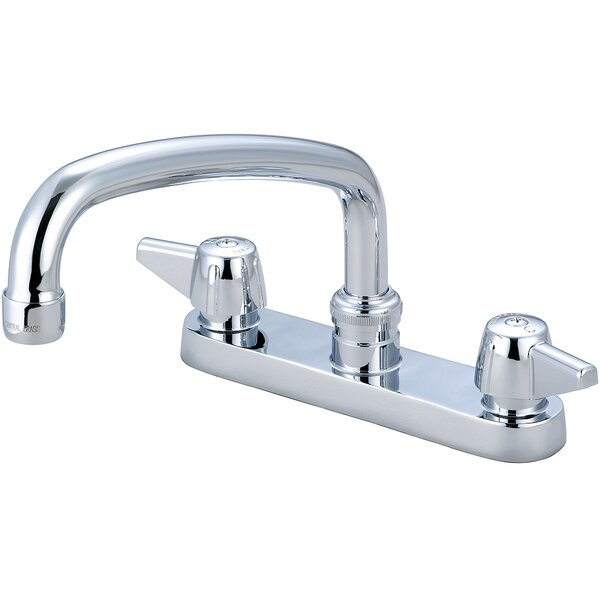 Double Handle Kitchen Faucet by Central Brass
