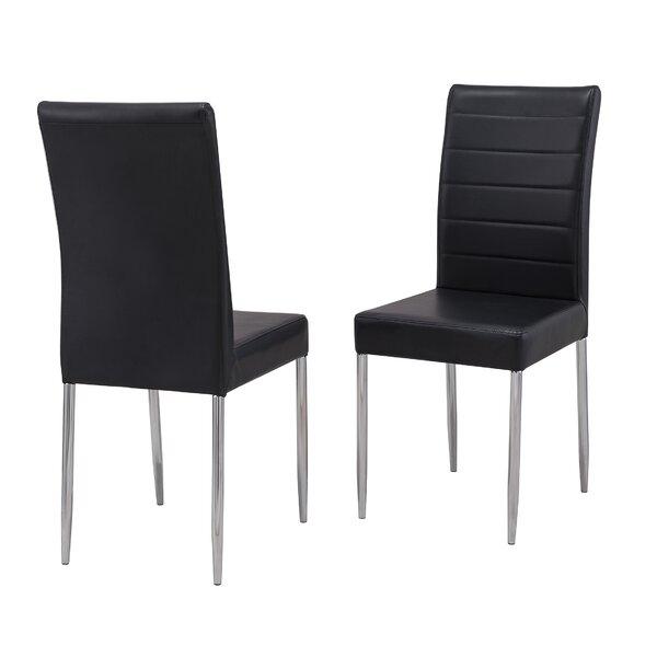 Raina Upholstered Dining Chair (Set of 2) by Orren Ellis