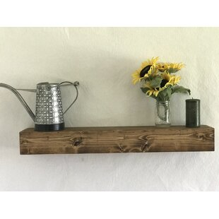 Read Reviews Reclaimed Wood Floating Shelf By Essex Hand Crafted Wood Products