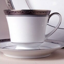 Crestwood Platinum 8 oz. Cup (Set of 4) by Noritake