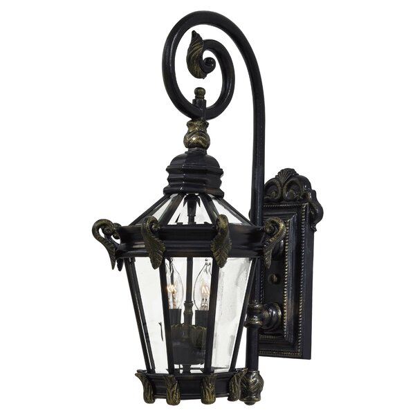 Stratford Hall 2-Light Outdoor Wall Lantern by Great Outdoors by Minka