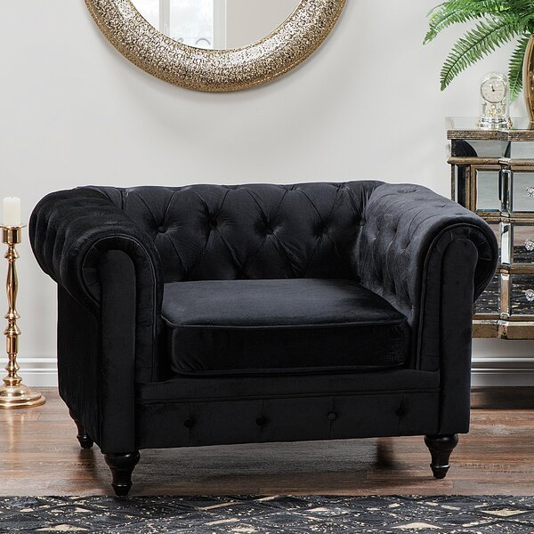 Boss Chesterfield Chair by House of Hampton