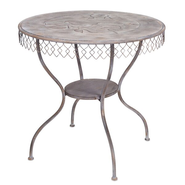 Tussey Table with Bird Folding Bistro Table by Ophelia & Co.