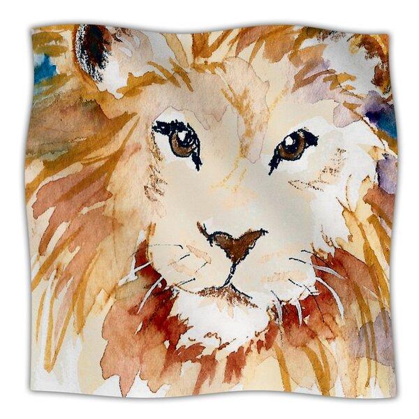 Leo Throw Blanket by KESS InHouse