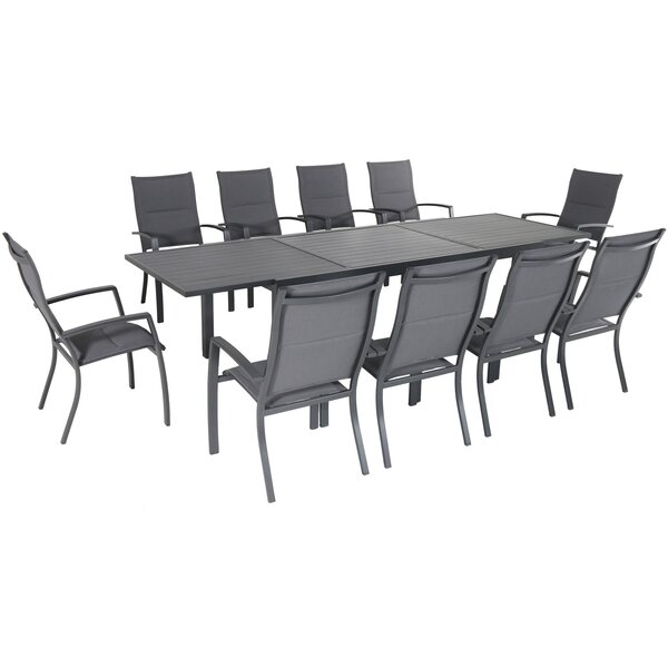 Ashwell 11 Piece Dining Set by Sol 72 Outdoor