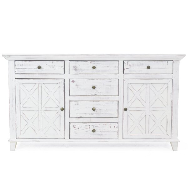 Lockett 6 Drawer Combo Dresser by August Grove