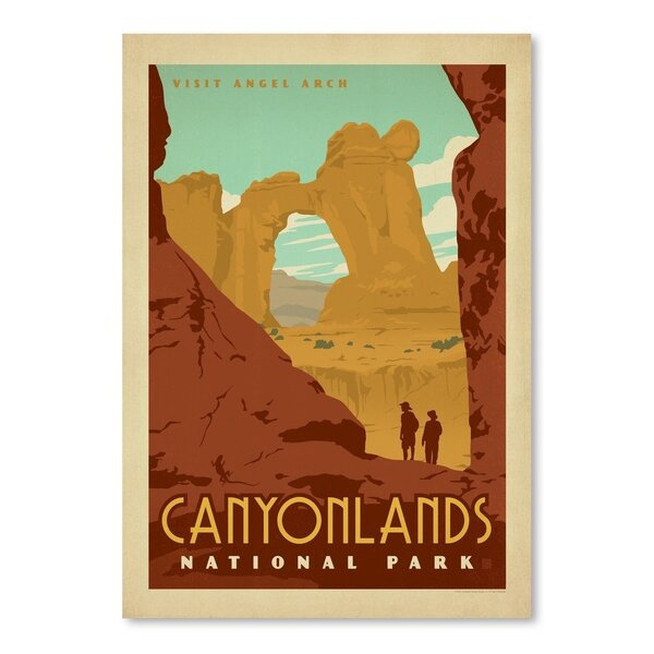 Canyonlands National Park Vintage Advertisement by East Urban Home