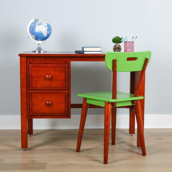 Isla Solid Wood Wingback Side Chair