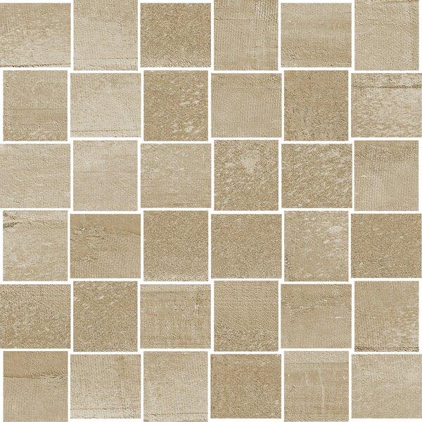 La Vie Boheme 1.8 x 2 Porcelain Mosaic Tile in Tan by PIXL