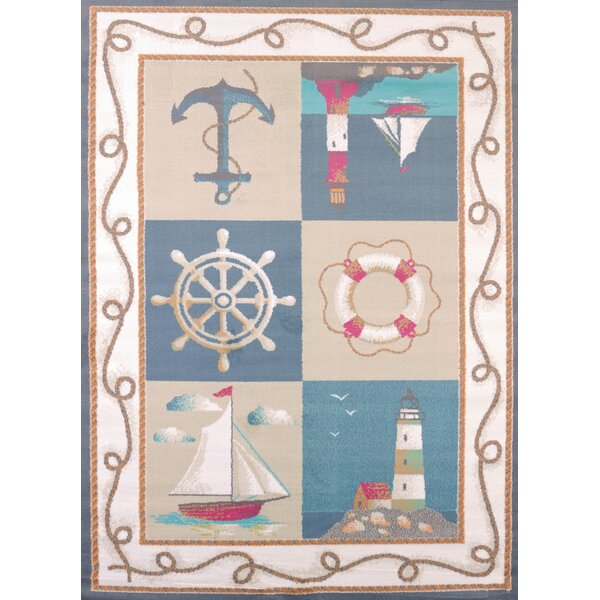 Regional Concepts Maritime Coast Blue Area Rug by United Weavers of America