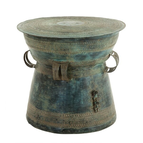 Drum Thai End Table by Eichholtz