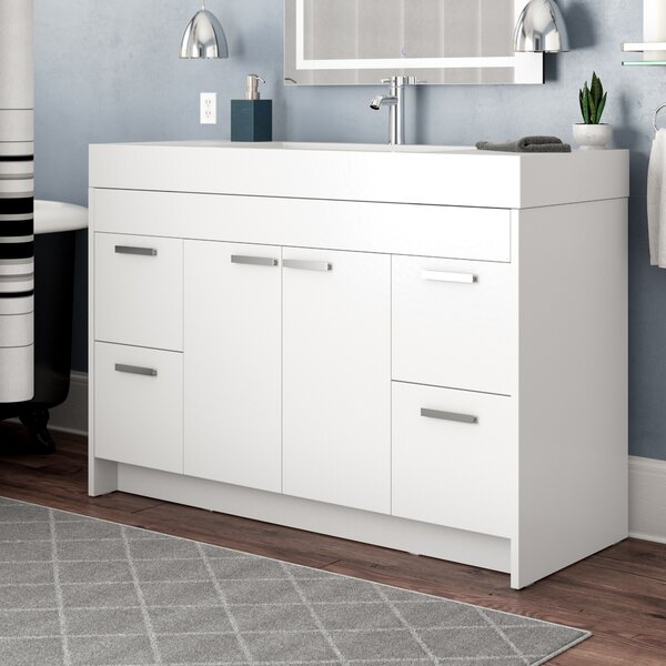 Zuzanna 48 Single Bathroom Vanity Set by Orren Ellis