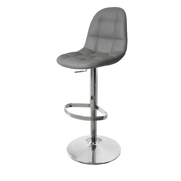 Artiaga Adjustable Height Bar Stool by Orren Ellis