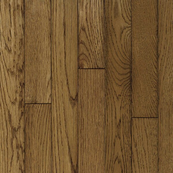 Ascot Strip 2-1/4 Solid Oak Hardwood Flooring in Sable by Armstrong Flooring