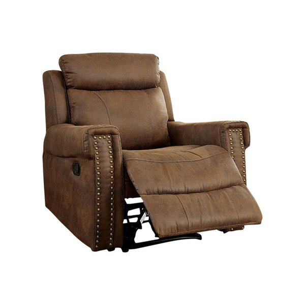 Toia Transitional Manual Rocker Recliner [Red Barrel Studio]
