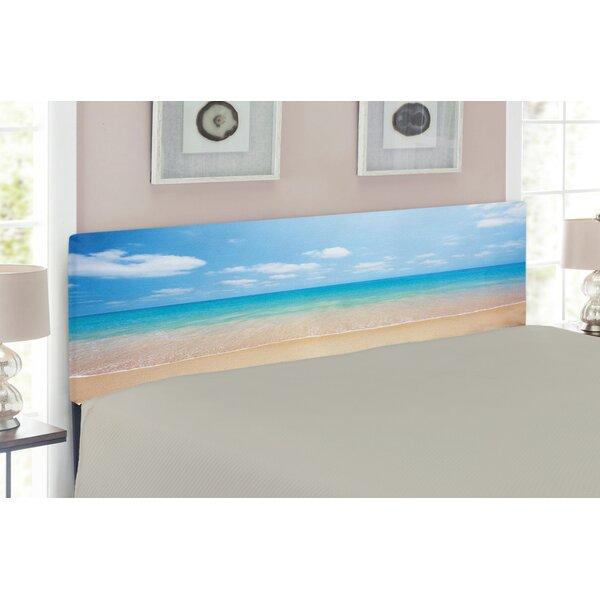 Ocean Upholstered Panel Headboard by East Urban Home East Urban Home