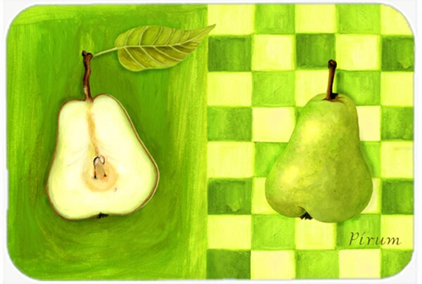 Donohoe Pear by Ute Nuhn Kitchen/Bath Mat by Red Barrel Studio